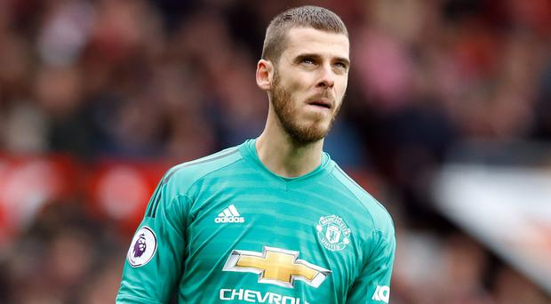 Manchester United have offered an improved contract off to goalkeeper David De Gea (Martin Rickett/PA)