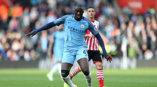 Former Manchester City midfielder Yaya Toure has moved to China (Steven Paston/PA)