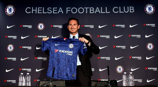 Frank Lampard has returned to Chelsea as manager (Yui Mok/PA).