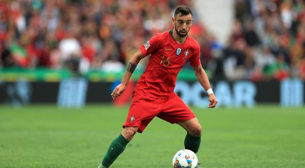 Bruno Fernandes is said to be eager to move to Manchester United (Mike Egerton/PA)