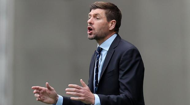 Rangers manager Steven Gerrard has reportedly been approached to take over at Newcastle (Jane Barlow/PA)