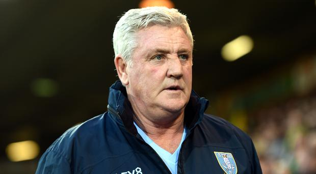 Sheffield Wednesday manager Steve Bruce has been linked with the vacancy at Newcastle (Joe Giddens/PA)