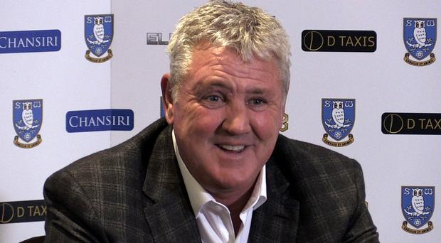Sheffield Wednesday manager Steve Bruce has played down a link with the vacancy at Newcastle (PA)