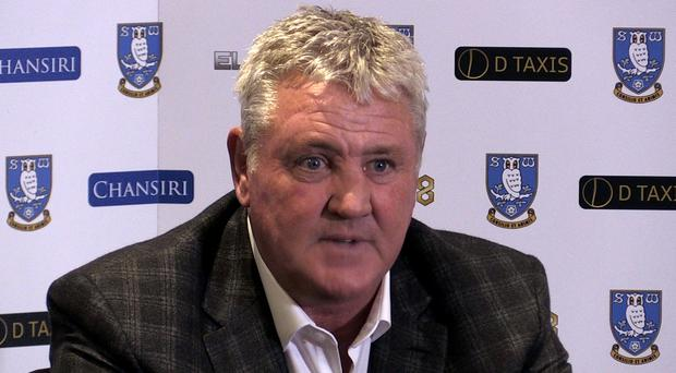 Newcastle are yet to agree a compensation package for Sheffield Wednesday manager Steve Bruce (PA)