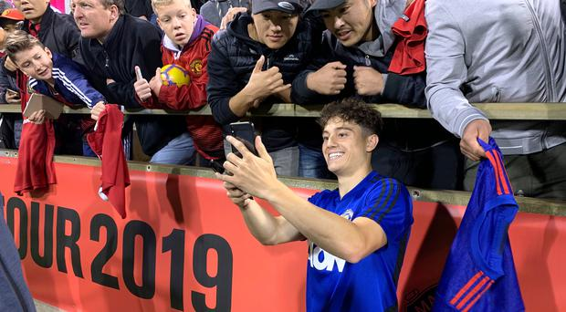 Daniel James has quickly settled into life at Manchester United (Simon Peach/PA)