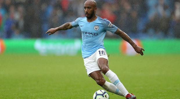 Fabian Delph has joined Everton (David Davies/PA)