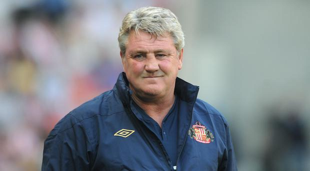 Steve Bruce spent just over two seasons in charge of Sunderland (Anna Gowthorpe/PA).