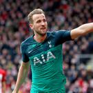 Harry Kane scored a sensational goal for Tottenham in their friendly win over Juventus (Andrew Matthews/PA)