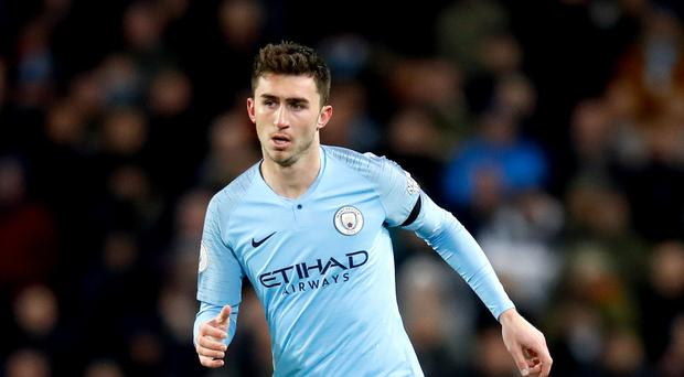 Aymeric Laporte accepts he could have a battle to keep his place at Manchester City (Martin Rickett/PA)