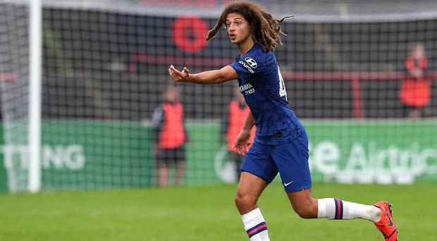 Wales international Ethan Ampadu is set for a loan spell in Germany (Brian Lawless/PA)