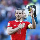 Gareth Bale continues to make headlines (Darren Staples/PA)