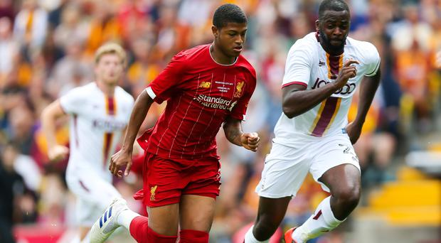 Liverpool youngster Rhian Brewster (pictured) has been asked to fill the boots of striker Daniel Sturridge (Barrington Coombs/PA)