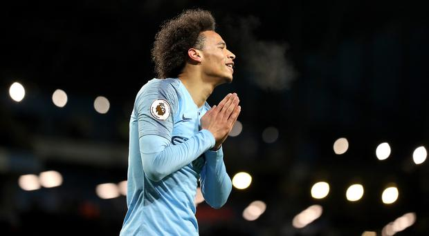 Manchester City's Leroy Sane could be heading to Germany (Martin Rickett/PA)