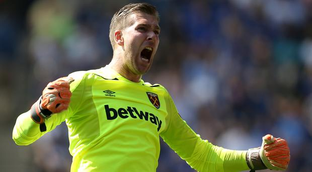 Former West Ham keeper Adrian will replace Simon Mignolet at Liverpool (Tim Goode/PA)