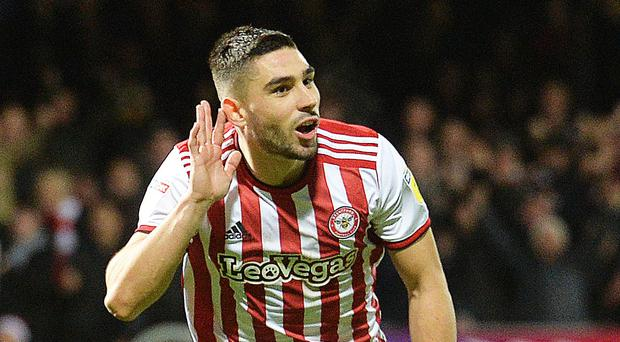 Neal Maupay has left Brentford for Brighton (John Stillwell/PA)