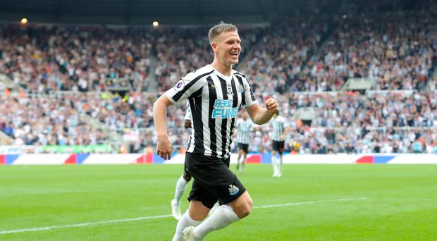 Newcastle midfielder Matt Ritchie has called for a united front on Tyneside (Richard Sellers/PA)