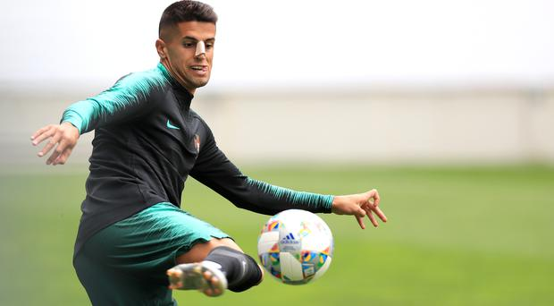 Joao Cancelo has joined Manchester City (Mike Egerton/PA)