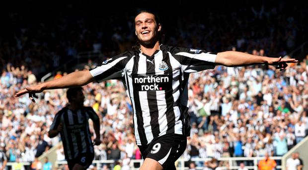 Back home: Andy Carroll