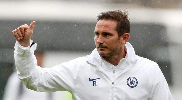 Chelsea manager Frank Lampard faces his first fixture as a Premier League manager against Manchester United (Brian Lawless/PA)