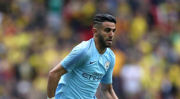 Riyad Mahrez is available again for Manchester City after an issue concerning medication (Nick Potts/PA)