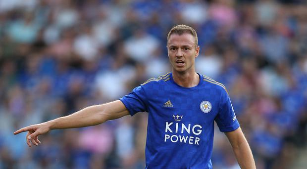 Leicester's Jonny Evans believes former team-mate Harry Maguire will be a hit at Manchester United. (Nigel French/PA)