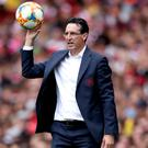 Unai Emery signed six players this summer (Nick Potts/PA)