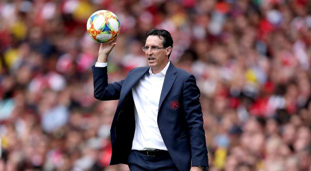 Unai Emery was happy with the performance of his new signings (Nick Potts/PA)