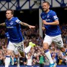 Bernard's goal separated the teams at Goodison Park (Ian Hodgson/PA)
