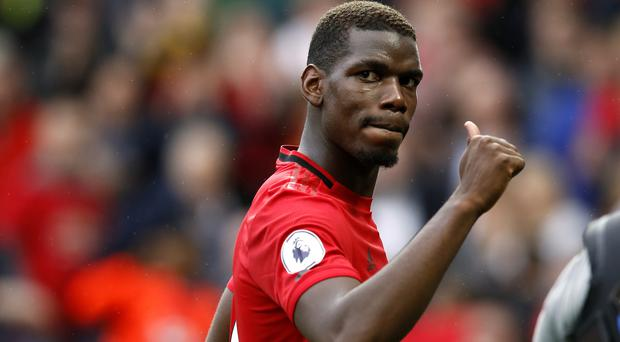Paul Pogba has been linked with a move away from Old Trafford (Martin Rickett/PA)