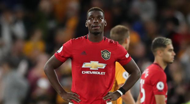 Paul Pogba missed a penalty for Manchester United (Nick Potts/PA)