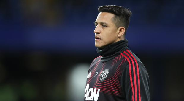 Alexis Sanchez has long been linked with an Old Trafford exit (PA/Adam Davy)