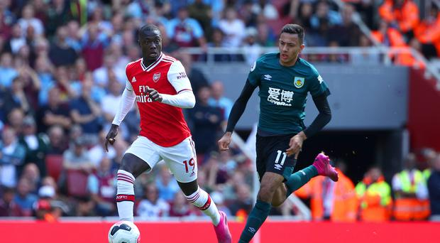 Nicolas Pepe, left, is one of several exciting signings for Arsenal this summer (Yui Mok/PA)