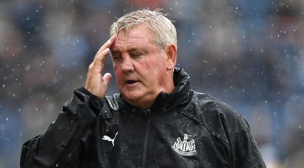 Newcastle head coach Steve Bruce has vowed to protect his players from criticism (Anthony Devlin/PA)