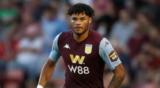 Aston Villa's Tyrone Mings has earned a first England call. (Nick Potts/PA)