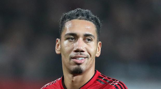 Chris Smalling looks to be on his way out of Manchester United (Martin Rickett/PA)