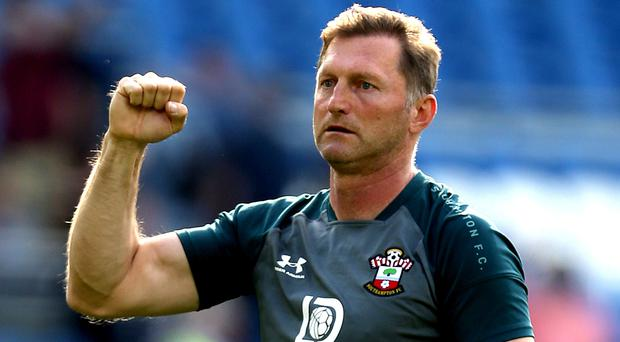 Ralph Hasenhuttl's Southampton will aim to see of Manchester United at St Mary's (Steven Paston/PA)