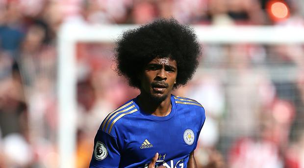 Leicester's Hamza Choudhury has been criticised by Newcastle boss Steve Bruce (Richard Sellars/PA)