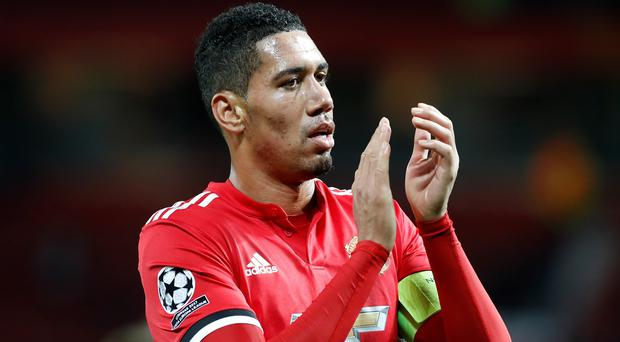 Chris Smalling is off to Italy (PA)
