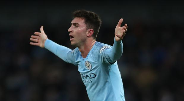 Manchester City fear they could be without Aymeric Laporte for a lengthy spell (Nick Potts/PA)