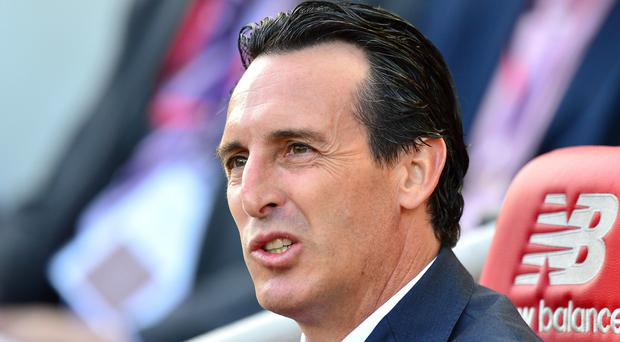 Unai Emery will look to his youth players (Anthony Devlin/PA)