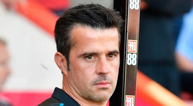 Off form: Marco Silva's men slipped up on the road again