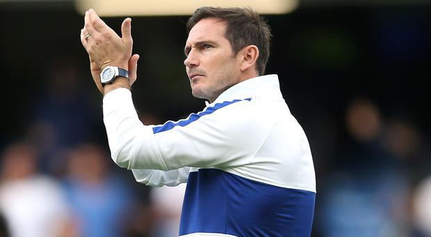 Frank Lampard is ready for the Champions League (Steven Paston/PA)