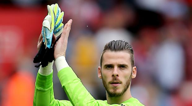 David De Gea has signed a new contract at Manchester United (Mark Kerton/PA)