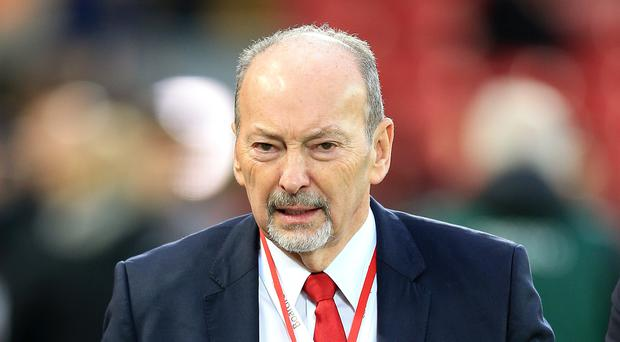 Liverpool chief executive Peter Moore visited an injured fan in hospital after the Champions League defeat to Napoli (Steven Paston/PA)