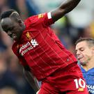 Sadio Mane was injured during Liverpool's win at Chelsea (Nick Potts/PA)