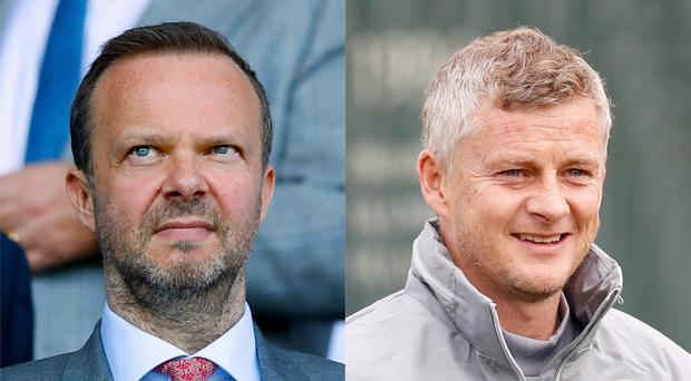 Ed Woodward has backed Ole Gunnar Solskjaer to get it right at Old Trafford (Martin RIckett/PA)
