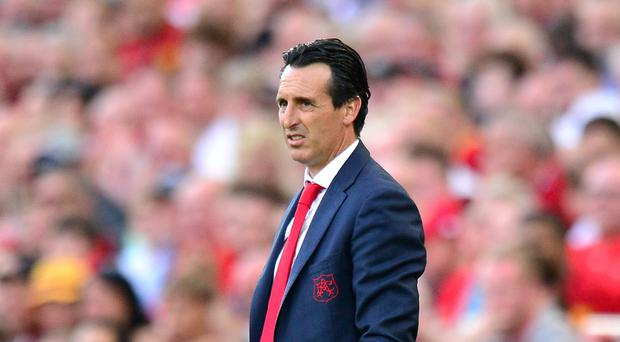 Arsenal manager Unai Emery has given his players the power to pick their leaders in the dressing room (Anthony Devlin/PA)