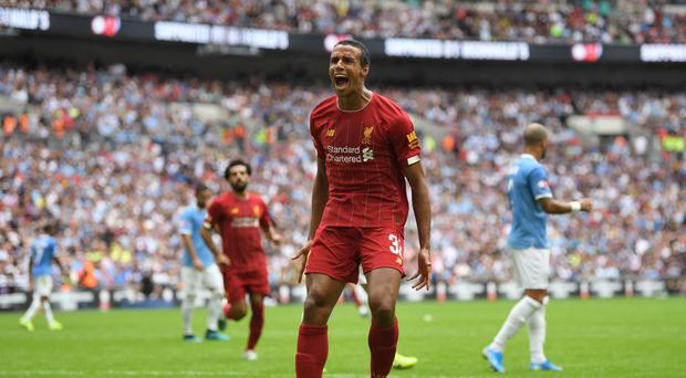 Solid stuff: Joel Matip has been in excellent form for Liverpool, much to the delight of boss Jurgen Klopp