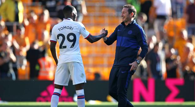 Fikayo Tomori has been praised by Chelsea manager Frank Lampard, who believes he will get even better (Nick Potts/PA)