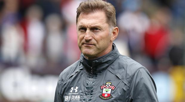 Ralph Hasenhuttl's Southampton have gone five games without a home win (Martin Rickett/PA)